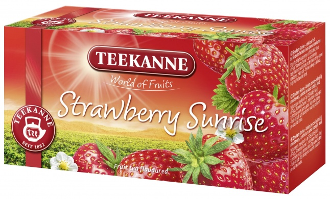 Teekanne Strawberry Sunrise World of Fruits (20 sáčků) 50g