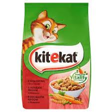 Kitekat granule hovězí a zelenina pro kočky 300g (100g=10.3kč)