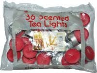 Tea Lights svíčky strawberry ( sáček ) 36ks