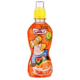 Hello Simpsons nápoj pomeranč 330ml