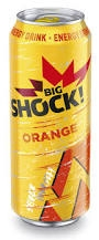 Big Shock Energetický nápoj Orange 500ml