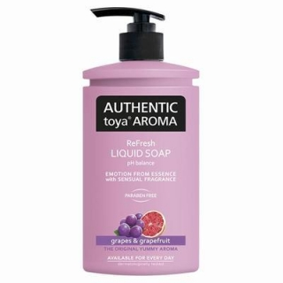 AUTHENTIC toya AROMA grapes grapefruit tekuté mýdlo 400ml