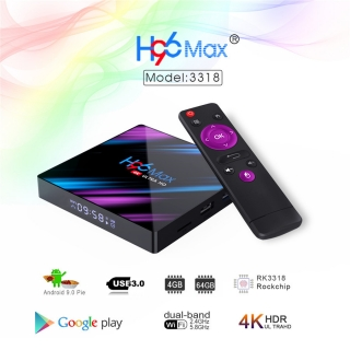 H96 max pro 4K Android Smart TV Box