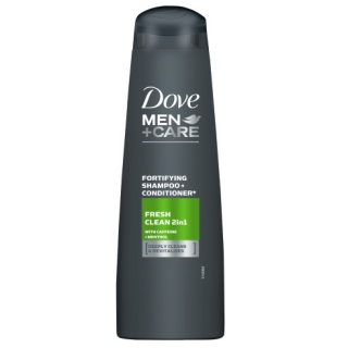 Dove Men + Care Fresh Clean 2v1 šampon 250 ml