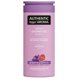 AUTHENTIC toya AROMA Srpchový gel Grapes & grapefruit 400 ml