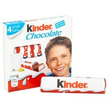 Kinder Chocolate T4 50g