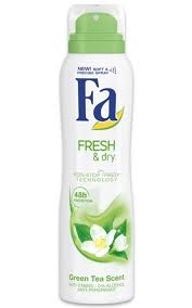 Fa Deo fresh & dry green tea 150m