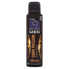 Fa Deo Dark Passion for men 150ml