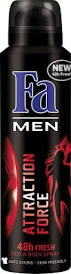 Fa Deo 48h Men Attraction force 150ml